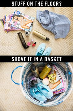 13 Extremely Easy Ways to Fake a Clean House in 5 Minutes