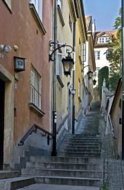 Kamienne Schodki-street, old town (Warsaw)