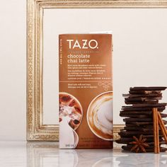 Rich cocoa decadence swirls with classic chai spices and other natural flavors.   #SweetMeetsSpicy experience! TAZO® Chai #GotitFree @smiley360