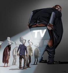 Satirische Illustrationen der heutigen Probleme von Gunduz Agayev - #Agayev #Der #dessin #Gunduz #heutigen #Illustrationen #Probleme #Satirische #von