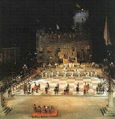 Living chess match in Marostica, Italy held every even numbered year in September. its happening in 2012 and i so wanna go