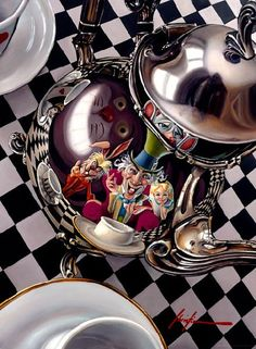 Wonderland: The #Mad #Hatter's Tea Party.