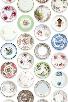 wonderful plates for dollhouses