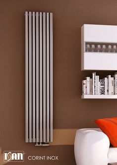 ISAN Radiators: Designer radiator - Corint Inox
