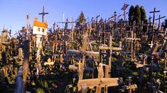 More than 100,000 crosses sit on a hill in northern Lithuania. Although this place of pilgrimage now represents both Christian devotion and Lithuanian identity, the tradition of leaving crosses dates back to 1831.