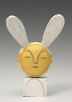 Christine Kaiser wood sculpture