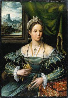 Pieter de Kempener (1503-1580) TitoloRitratto di signora Data16 ° secolo