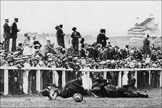 it was George V's horse 'Amner' that 41 year old suffragette Emily Davison threw herself in front of, to highlight the cause of the Women's Suffragette movement in 1913. Sadly Emily fractured her skull in the process, and died four days