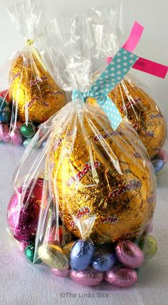 Easter gifts treat filled chocolate bowls chocolate bowls negle Choice Image