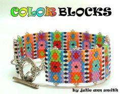 Julie Ann Smith Designs COLOR BLOCKS Odd por JULIEANNSMITHDESIGNS