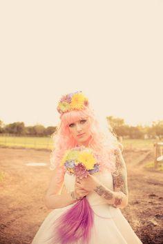 Horses, Rainbow Brights & a Tattooed Bride