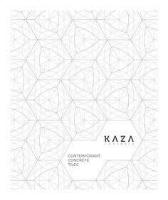 Kaza Mystile Brochure Contemporary Concrete Tiles