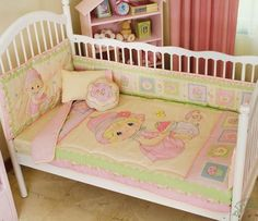 Precious Moments bed for a girl