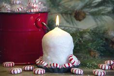 Merry Mint oversized votive