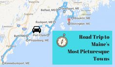 Take This Road Trip Through Maine's Most Picturesque Small Towns For A Charming Experience