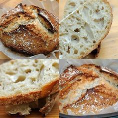 Levain - Le pain inratable et la recette http://makanaibio.com/2009/03/le-pain-au-levain-le-plus-simple-du.html - MakanaiMakanai