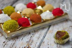 Trufas de chocolate / Chocolate truffle