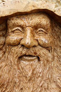 Tree spirit, wood sculpture, Wedding gift, gift for Mom, rustic decor, log cabin decor, gift for Anniversary, Den decor, living room decor,