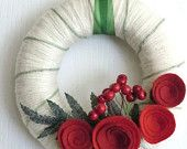 classic yet modern holiday colors and decor