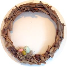 the coastal Easter wreath by coastalwreath on Etsy