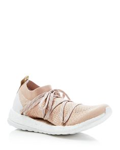 adidas by Stella McCartney Pure Boost X Lace Up Sneakers