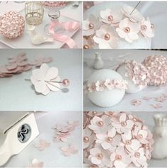 Creative ideas diy felt flower christmas ball ornament diy paper centerpiece mightylinksfo