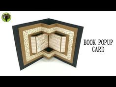 Book Popup card – DIY | Tutorial by Paper Folds | Paperfolds.in | Origami, Arts and Crafts