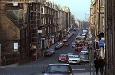 Easter Road, Edinburgh (1991) pic © SDS