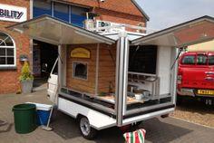 Piaggio Ape Wood Fired Pizza Conversion