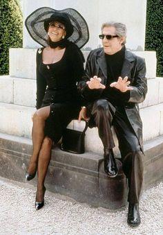 "pinterest: geminoir  | Sophia Loren & Marcello Mastroianni "" Prêt-à-Porter "", 1994"