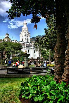 Quito, Ecuador  ( 7 . 8 earthquake  my heart and prayers go to all, Irish)4-17-16