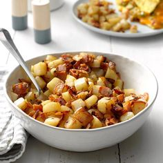 The Best Breakfast Recipes of 2019 Bacon Dishes, Potato Dishes, Potato Recipes, Rice Dishes, Pork Recipes, Easy Recipes, Best Breakfast Recipes, Breakfast Dishes, Breakfast Time