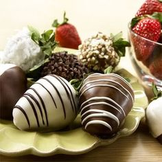 chocolate covered strawberries | ... introduced chocolate in the 16th century to Europe, had this to say