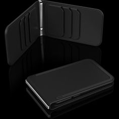 My dream wallet, the DOSH Luxe 6 card in ROOK (black). Slim, money clip, 6 slots, and clean design.