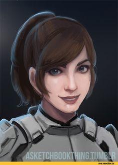 Mass Effect,фэндомы,ME Andromeda,ME персонажи,Sara Ryder