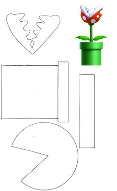 mario question block coloring pages - photo#29