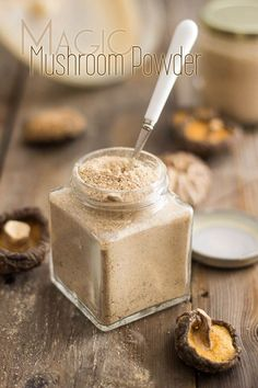 Magic Mushroom Powder - umami in a jar! #food #paleo #glutenfree
