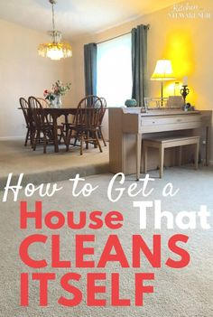 Are you drowning in chaos and clutter? Tired of your cleaning plans falling apart? Learn how to get to a point where your house can keep itself clean. Spring cleaning will be a breeze this year.