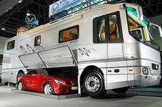 Storage for your sports car when you go RVing...lol!