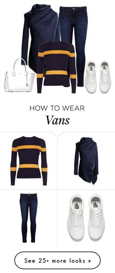 """235"" by vicinogiovanna on Polyvore featuring Levi's, Jaeger, Vans, Michael Kors and casualoutfit"