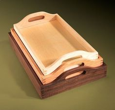 Easy Wood Projects for Beginners | AW Extra - Nesting Trays - Woodworking Projects - American Woodworker