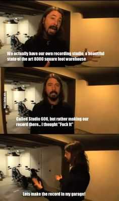 Awesome Dave Grohl Is Awesome - musiciansare.com