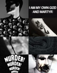 Harry Potter Aesthetics ➤ Character: Tom Marvolo Riddle / Lord Voldemort