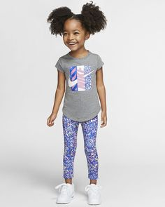 Toddler Nike Outfits, Kids Outfits, Cute Outfits, Black Kids Fashion, Little Girl Fashion, Toddler Swag, Toddler Girl, Cute Little Girls Outfits, Cute Kids