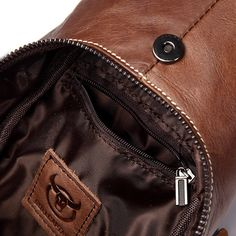 Bullcaptain Men Genuine Leather Business Casual Chest Bags Shoulder  Crossbody Bag is worth buying - NewChic b364ee97f