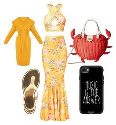 """In the sun"" by vivalasmariposa on Polyvore featuring MICHAEL Michael Kors, Betsey Johnson and Casetify"