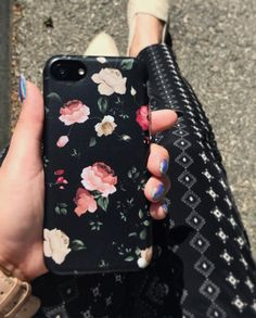 Just really loving florals right now  Dark Rose Case for iPhone 7 & iPhone 7 Plus from Elemental Cases