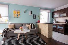 HOME STAGING mieszkania na wynajem - Salon, styl skandynawski - zdjęcie od Nowe4Ściany