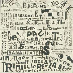 Theo van Doesburg kleine Dada soirée