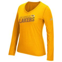5842422b Details about Los Angeles Lakers Womens Adidas Stacked Tee - NWT - MSRP $35